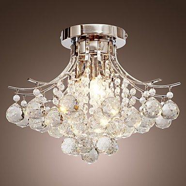 Modern Chandelier Crystal 3 Lights - inexpensive UK light shop.