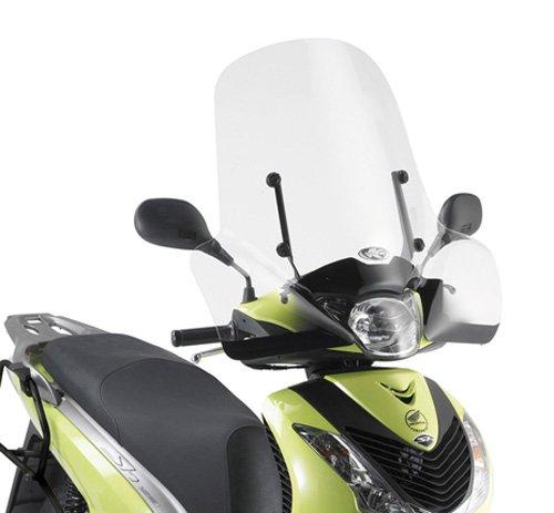 Pare-Brise spécifique Transparent 55 x 66 cm (H x l) attaques exclus Kappa 313 à Honda SH 125i-150i (05 > 08) Honda SH 125i-150i (09 > 12)