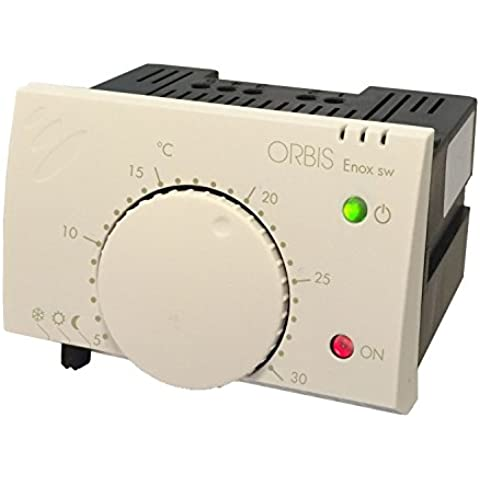 OrbisENOX Termostato elettronico da incasso,Alim.230 V