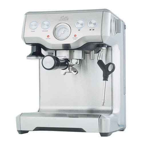 Solis caffespresso Pro freistehend halbautomatisch Maschine Espresso 2Tassen Edelstahl...