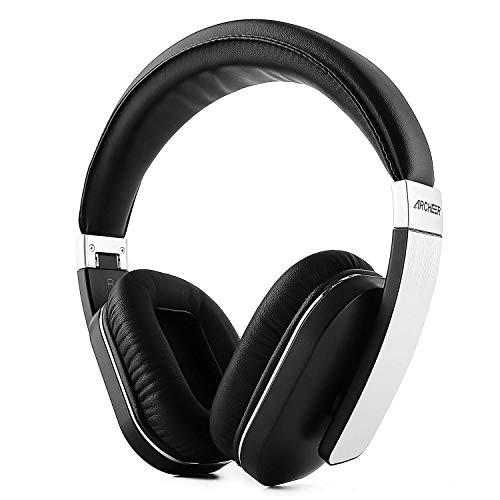 Auricular con micrófono bluetooth 4.0 auriculares inalámbrico plegable auricular bajo estéreo con micrófono antirruido APT-X para iPhone, Samsung, iPad, Tablets y más