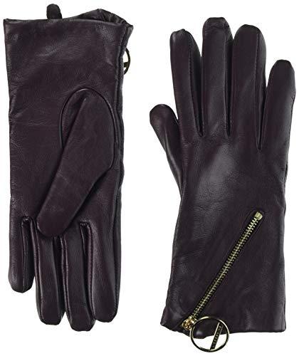 Liebeskind Berlin Damen H1189710 leathe Handschuhe, Violett (Royale Plum F 4932), Small