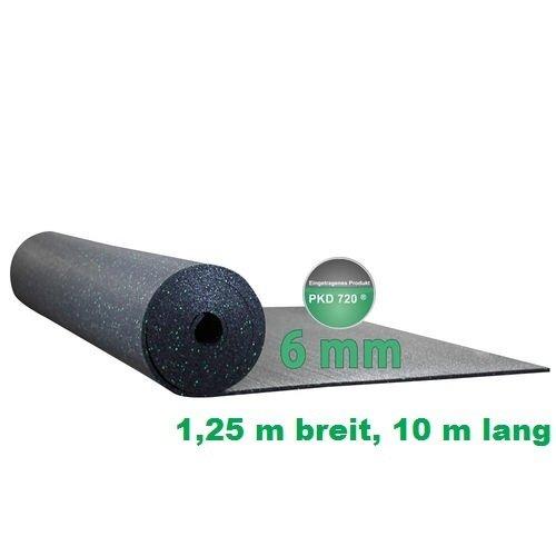 Preisvergleich Produktbild Antirutschrolle PKD 720 1,25 m breit, 10 m lang, 6 mm stark