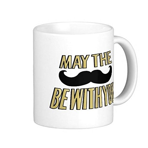 Mustache possono il Stache Be With You-Tazza da caffè, 11 Oz