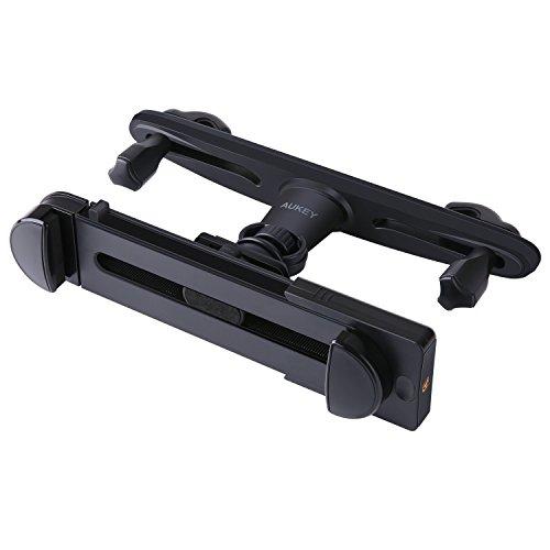 """AUKEY Tablet Halterung KFZ Kopfstütze 360 Grad Rotation für Tablets von 3,5"""" bis 13,5"""" Auto Kopfstützenhalterung für iPhone 7 plus / 7 / 6 / 6s , Samsung Note 8 , Kindle , iPad , iPad Mini usw."""