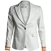 b7778d81ae2b Damen Jacke Blazer Blake Haley von Mos Mosh Farbe Beige Reverskragen  Pattentaschen Knopfverschluss