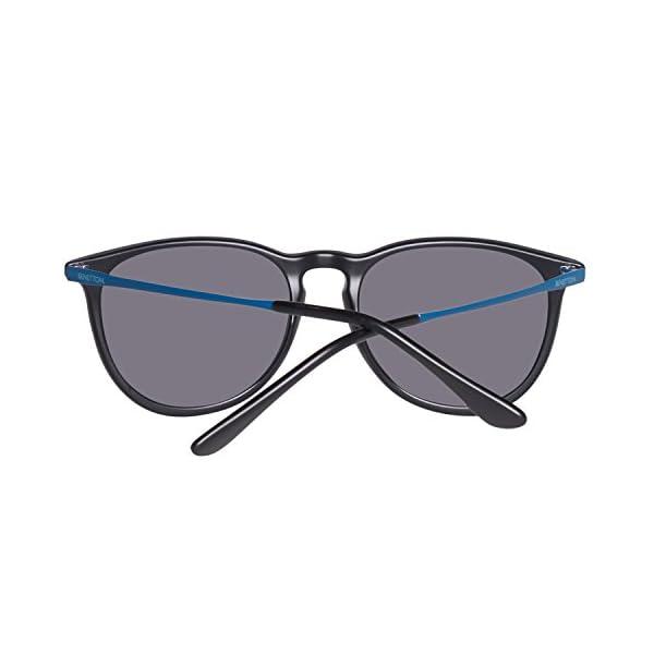 United Colors of Benetton BE983S01 Gafas de sol, Black, 50 Unisex