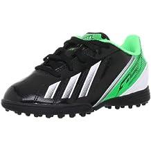 adidas Bota Jr F5 TRX Turf Negra-Verde Talla 5,5 UK