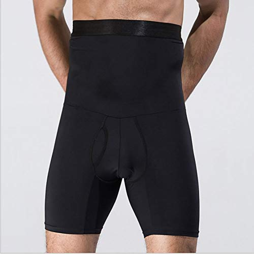 SSYDM Korsett Männer Compression Shorts Base Layer Engen Bauch Shapers Bodybuilding Boxer Box Übung Fitness Shorts Korsett Body - Haltung Compression Short