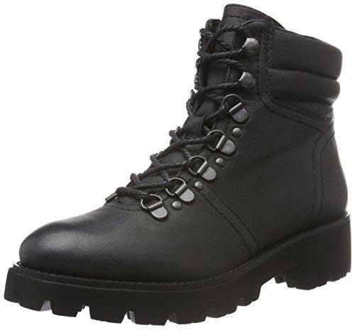 SPM Damen Atlas Ankle Boot Biker, Schwarz (Black/Black), 38 EU