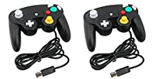 2 x Kabalo Wired Gamepad Joypad Gaming Controller for Nintendo Gamecube / Wii Console