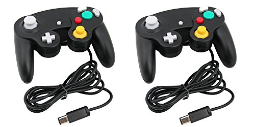 Kabalo 2 x Wired Gamepad Joypad Gaming Controller für Nintendo Gamecube / Wii Konsole [2 x Wired Gamepad Joypad Gaming Controller for Nintendo Gamecube / Wii Console]