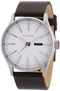Nixon Herren-Armbanduhr XL Analog Leder A105100-00