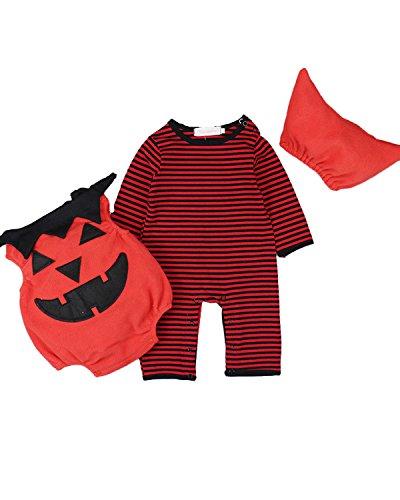 en Langarm Cosplay Halloween Karneval Bodysuit Jumpsuit Outfits Set Style 4 85/12-18M (Kostüm Bodysuit)
