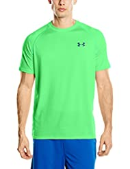 Under Armour Ua Tech Ss Tee Herren Fitness - T-shirts & Tanks, Grün (Northern Lights), Gr. XL