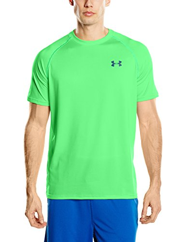 Under Armour Ua Tech Ss Tee Herren Fitness - T-Shirts & Tanks, Grün (Northern Lights), L (Tee Rock Out)