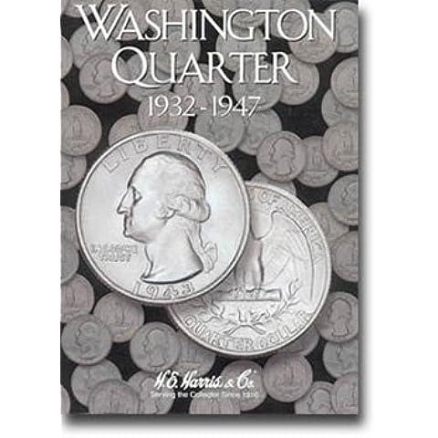 Harris Coin Folder - Washington Quarter #1 Folder 1932-1947 - #8HRS2688 by H.E. Harris
