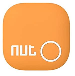 Nut Tracker 2 - Two way Bluetooth Tracker - Smartphone Operated - Wallet / Key Finder (Orange)