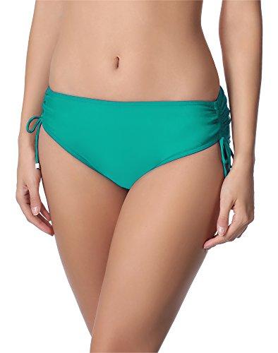 Merry Style Damen Bikini Unterteil M30 (Türkis(7073), 42 (Herstellergröße: XL))