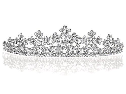 Daisy Blume Strass Kristall Ball Hochzeit Tiara Krone - Daisy Blume-bälle