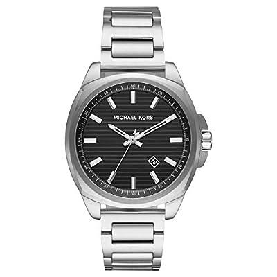 Michael Kors Reloj Analógico para Hombre de Cuarzo con Correa en Acero Inoxidable MK8633