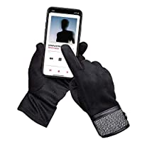 Unisex Touch Screen Gloves Men Winter Anti-slip Cold Proof Thermal Super Soft Wool Plus Velvet Warm Touchscreen Gloves Men Women Running Ski cycling Gloves Outdoor Sports