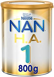 Nestle NAN H.A. Stage 1, From birth to 6 months, Hypoallergenic Starter Infant Formula Fortified with Iron, 80