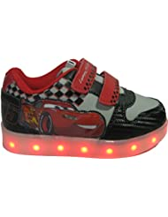 Baskets LED Cars pour garçons - semelles lumineuses clignotantes