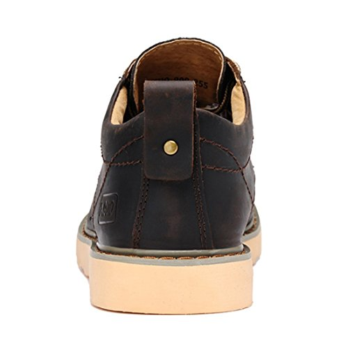 TDA , Chaussures à lacets homme Café noir
