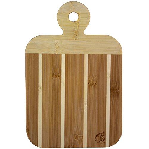 Unbekannt Totally Bamboo ba207608Brettchen Schneidebrett zweifarbig, Bambus, Holz, 23x 15x 1,2cm (Totally Schneidebrett Bamboo)