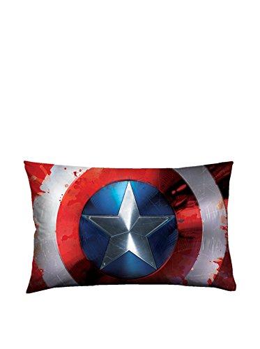 T&f 8054242509427 federa singola marvel-capitan america, 100% cotone, multicolore, 80x50x0.5 cm