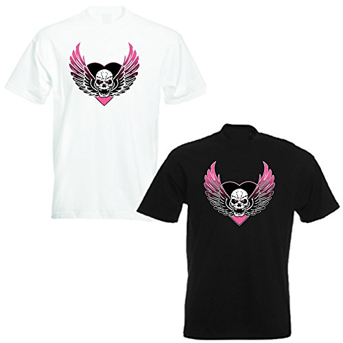 BRET THE HITMAN HART ICONIC SKULL T SHIRT