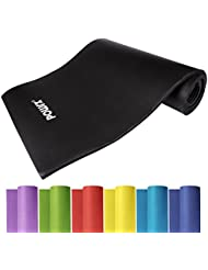 Tapis de Gym XXL ÉPAIS + ANTI-DÉRAPANT / Fitness - Yoga - Gymnastique - Pilates / 190 x 100 x 1,5 cm