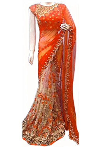 Sarees (Saree For Mira Fashion sarees for women party wear offer designer sarees for women latest design orange sarees new collection saree for women saree for women party wear saree With Designer Blo