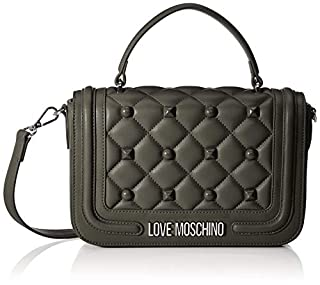 Love Moschino Jc4061pp18lh0850, bolso bandolera Unisex Adulto, Verde, 17x6x27 centimeters (W x H x L) (B07KJ8D2QP) | Amazon price tracker / tracking, Amazon price history charts, Amazon price watches, Amazon price drop alerts