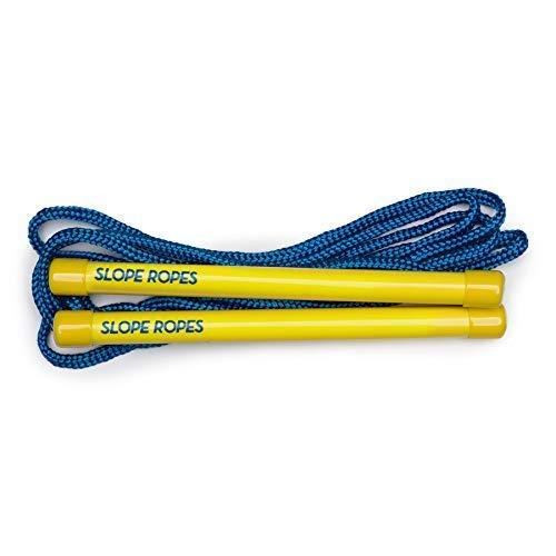 Slope Ropes® Ski-Leine für Kinder | Die einfachste Methode, um Kindern das Skifahren beizubringen (Gelb/Blau)