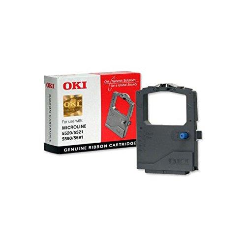 Preisvergleich Produktbild OKI 01126301 Microline 5520, 5521, 5590, 5591 Tintenband schwarz 4.000.000 Zeigen