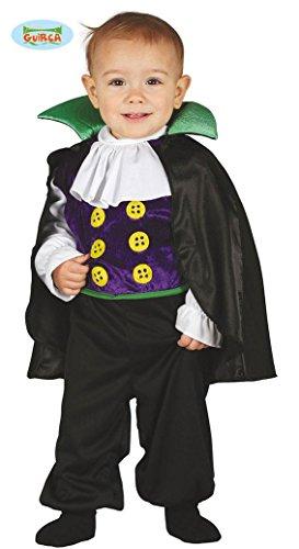 Baby Vampir mit Umhang Kostüm für Kinder Karneval Fasching Halloween Gr. 74 - 92, (Kostüm 80's Halloween Ideen Lustige)