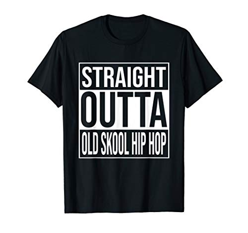 School Hiphop Kostüm Old - Old Skool 90s Hip Hop Kleidung Old School 1990 Jahre Rap T-Shirt