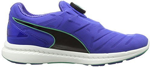 Puma  IGNITE DISC Wn's - Chaussures  Running - Femme Multicolore (Dazzling Blue/Black/Mint Leaf)