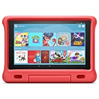 Kid-Proof Case for Fire HD 10 tablet   Compatible with 9th generation tablet (2019 release), Punch Red