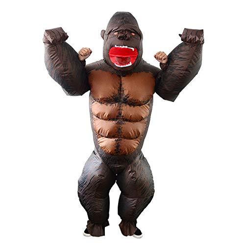 WYAJZHA King Kong Inflatable Suit Cartoon Puppe