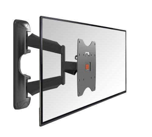 Vogel's BASE 45 S TV-Wandhalterung für 48-109 cm (19-40 Zoll) Fernseher, 180° schwenkbar und neigbar, max. 20 kg, Vesa max. 200 x 200, schwarz