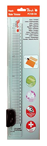 Peach PC100-04 Ruler Trimmer - Peach Blättern