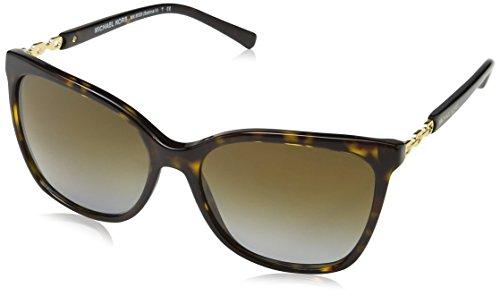 Michael Kors Unisex MK6029 Sonnenbrille, Braun (Havana 3106T5), One size (Herstellergröße: 56)