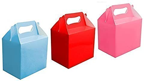 18 x Assorted Lunch / Food Boxes (6 of Each Colour Supplied)