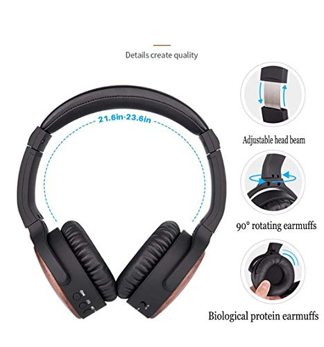 Zoom IMG-3 alisalq cuffie bluetooth over ear