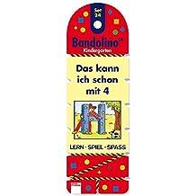 Das kann ich schon mit 4: Bandolino Set 24 (Edition Bücherbär)