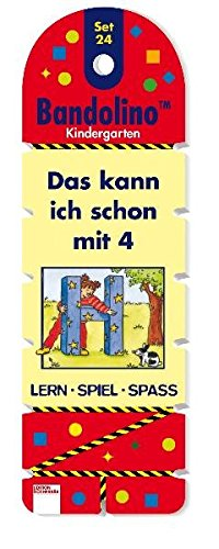 Das kann ich schon mit 4: Bandolino Set 24 (Edition Bücherbär) (Spiel 24)