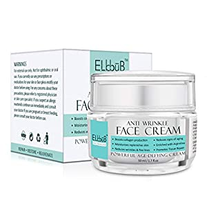 Crema Antiarrugas Facial, Crema Correctoras y Anti-Imperfecciones – Crema Faciales Hidratante, Antimanchas, Anti-edad para ojeras, bolsas, Reduce líneas de expresión y arrugas